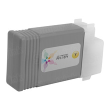 Canon (PFI-107Y) Yellow Compatible Ink Cartridge, 6708B001
