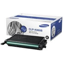 OEM Samsung CLP-K660B High Yield Black Laser Toner Cartridge 5.5K Page Yield