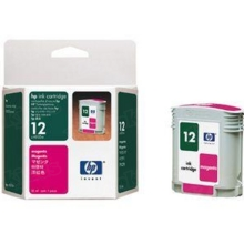 Original HP 12 Magenta Ink Cartridge in Retail Packaging (C4805A)