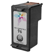 Remanufactured Replacement Ink Cartridge for Hewlett Packard C8767WN (HP 96) High-Yield Black