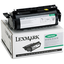 Lexmark OEM High Yield Black Return Program Laser Toner Cartridge, 1382929 (17.6K Page Yield)