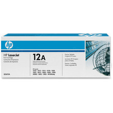 HP 12A (Q2612A) Black Original Toner Cartridge in Retail Packaging