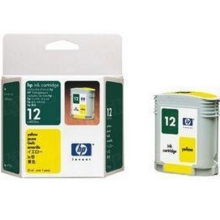 Original HP 12 Yellow Ink Cartridge in Retail Packaging (C4806A)