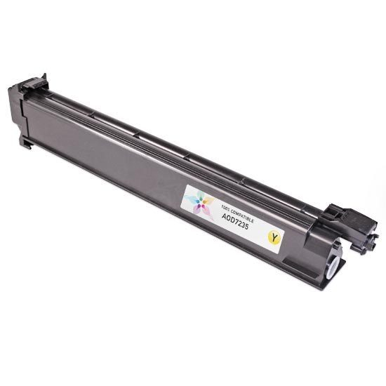Compatible Konica-Minolta Bizhub C200 Yellow Toner Cartridge