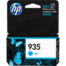 Original HP 935 Cyan Ink Cartridge in Retail Packaging (C2P20AN)