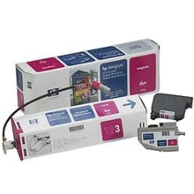 Original HP C1808A Magenta Ink Cartridge in Retail Packaging