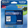 Brother TZe-131 1/2 Black on Clear OEM Tape