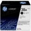 HP 38A (Q1338A) Black Original Toner Cartridge in Retail Packaging