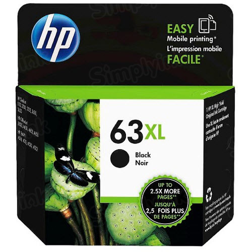 HP 63XL Black Original Ink Cartridge F6U64AN