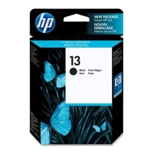 Original HP 13 Black Ink Cartridge in Retail Packaging (C4814A)