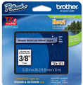 Brother TZe-121 3/8 Black on Clear OEM Tape