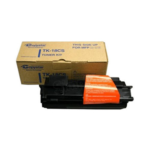OEM CopyStar TK-18CS Black Toner Cartridge