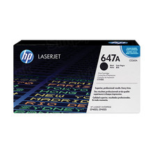 HP 647A (CE260A) Black Original Toner Cartridge in Retail Packaging