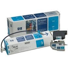 Original HP C1893A Cyan UV Ink System in Retail Packaging