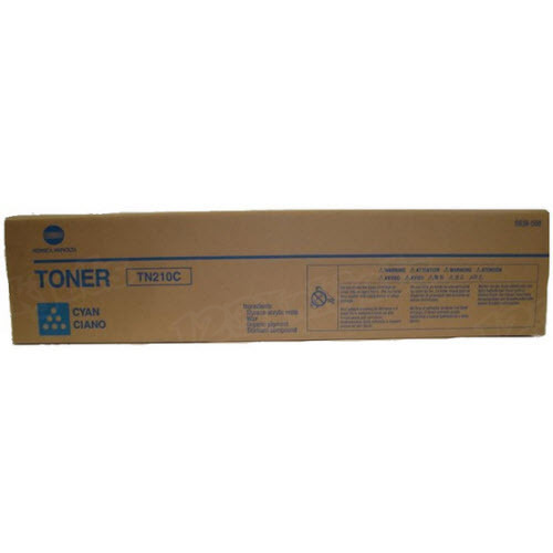 TN210C Cyan Toner for Konica Minolta