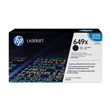 HP 649X (CE260X) Black High Yield Original Toner Cartridge in Retail Packaging
