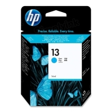 Original HP 13 Cyan Ink Cartridge in Retail Packaging (C4815A)