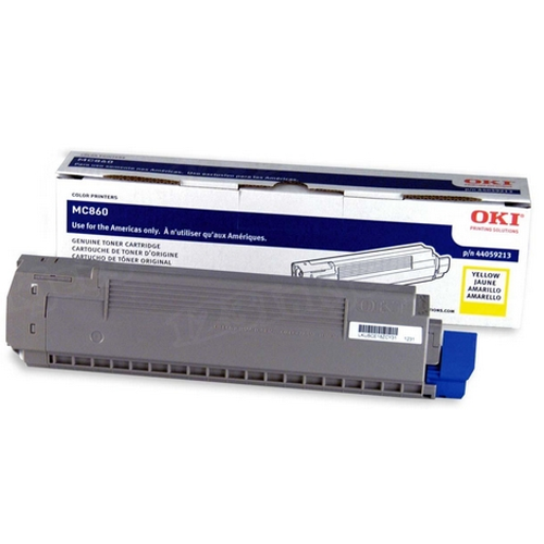 OEM Okidata 44059213 Yellow Toner Cartridge