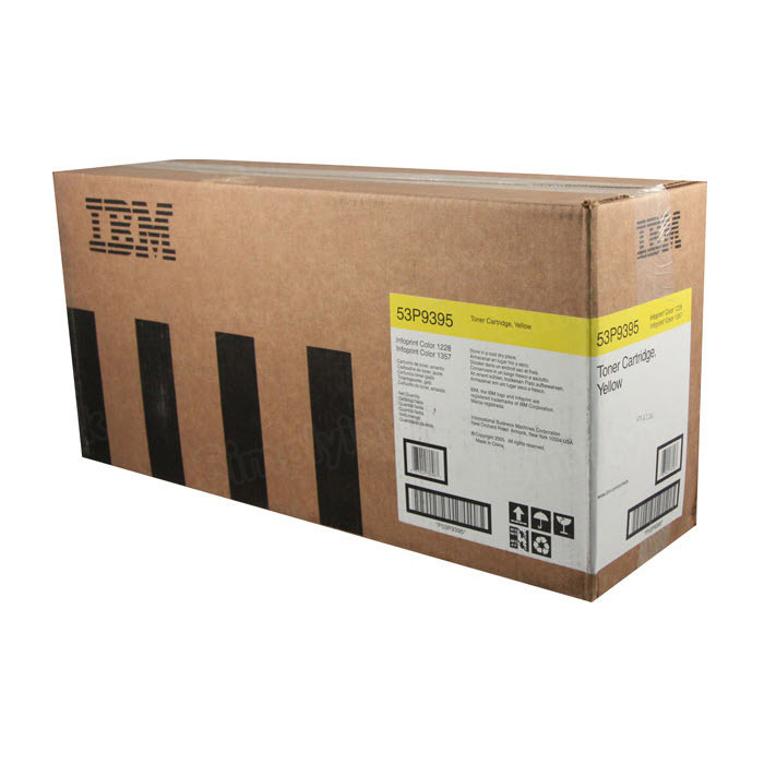 OEM IBM 53P9395 yellow Toner Cartridge