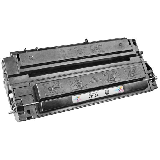 Remanufactured Replacement Black Laser Toner for HP 03A