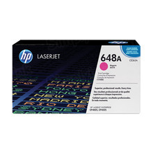 HP 648A (CE263A) Magenta Original Toner Cartridge in Retail Packaging
