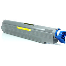 Okidata OEM Yellow 42918921 Toner Cartridge 15,000 Page Yield