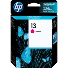 Original HP 13 Magenta Ink Cartridge in Retail Packaging (C4816A)