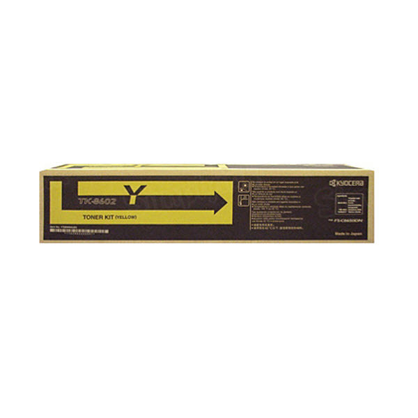 TK-8602Y Yellow Toner for Kyocera Mita