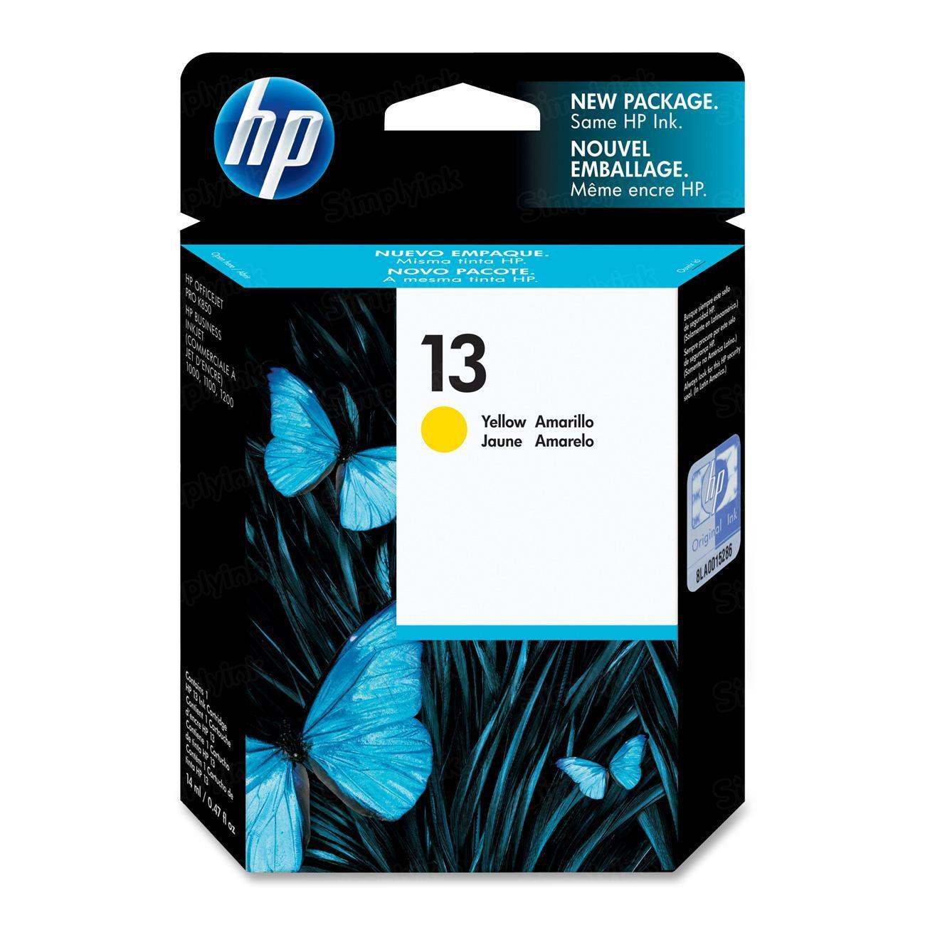 HP 13 Yellow Original Ink Cartridge C4817A