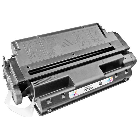 Remanufactured Replacement Black Laser Toner for HP 09A