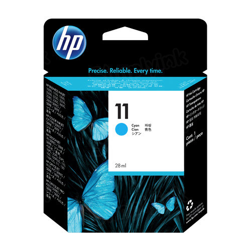 HP 11 Cyan Original Ink Cartridge C4836A