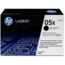 HP 05X (CE505X) Black High Yield Original Toner Cartridge in Retail Packaging