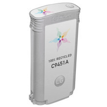 Remanufactured Replacement Ink Cartridge for Hewlett Packard C9451A (HP 70) Light Gray
