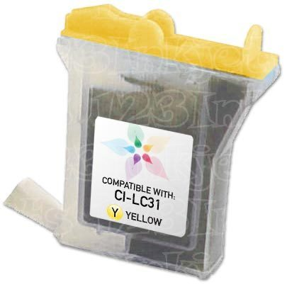 Brother Compatible LC31Y Yellow Ink