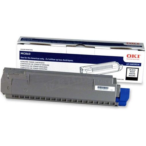 OEM Okidata 44059216 Black Toner Cartridge
