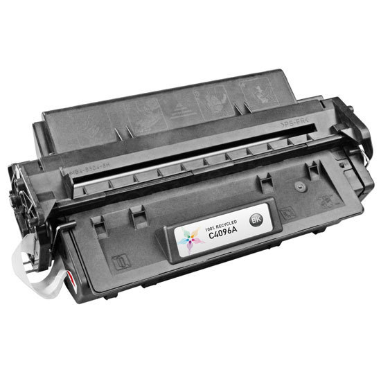 Remanufactured Replacement Black Laser Toner for HP 96A