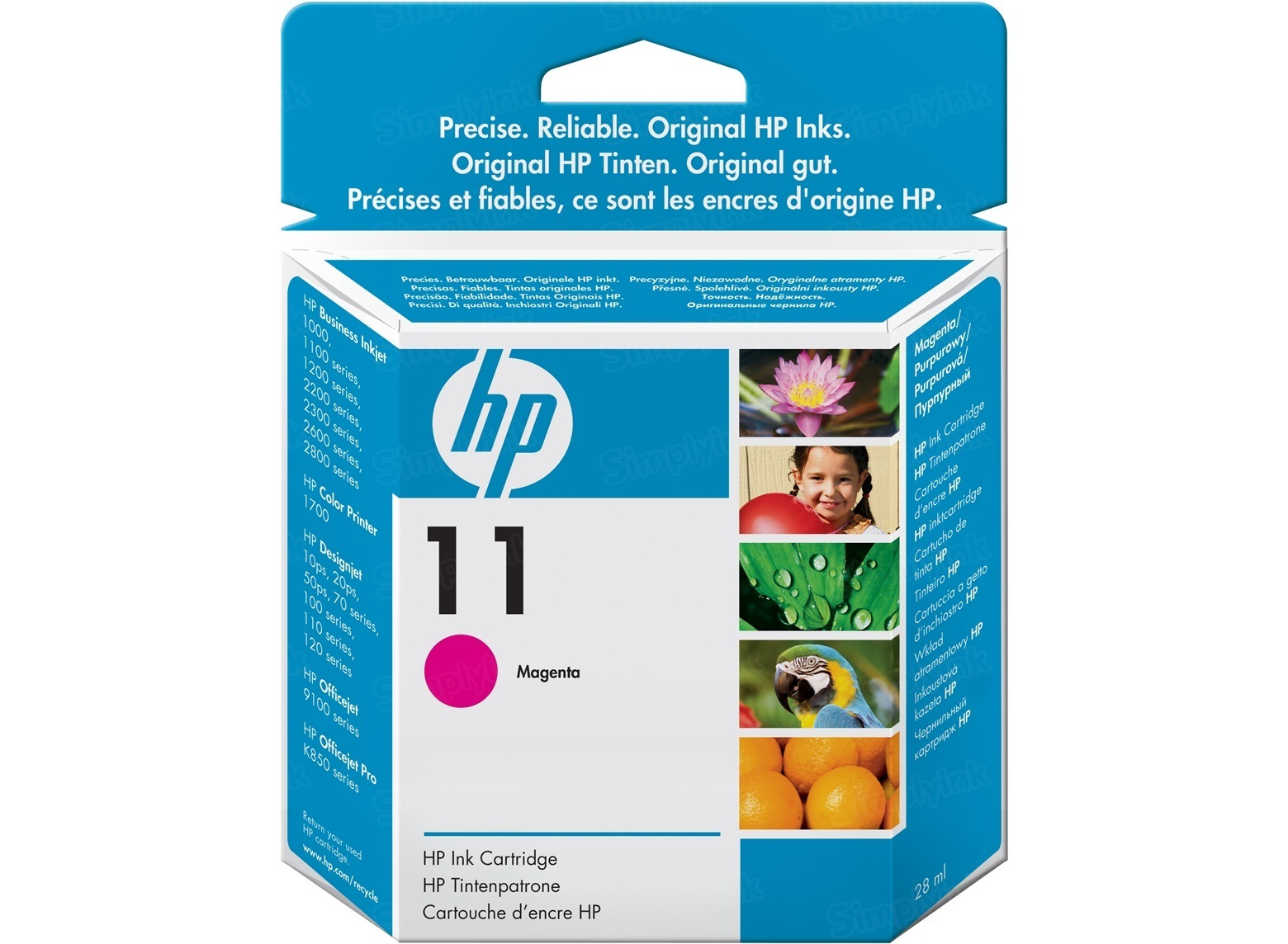 HP 11 Magenta Original Ink Cartridge C4837A