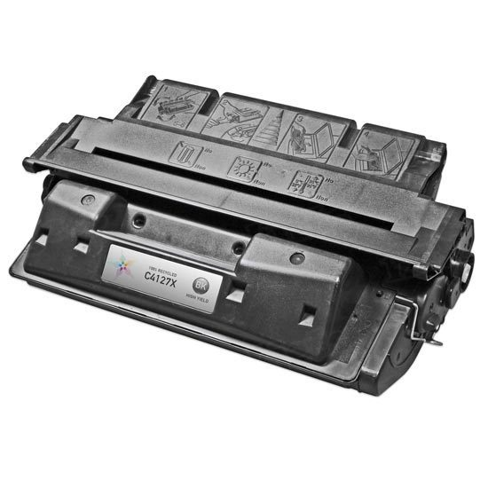 Remanufactured Replacement HY Black Laser Toner for HP 27X