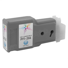 Canon (PFI-206C) Cyan Compatible Ink Cartridge, 5304B001