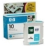 Original HP 10 Cyan Ink Cartridge in Retail Packaging (C4841A)