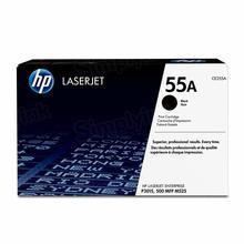 HP 55A (CE255A) Black Original Toner Cartridge in Retail Packaging
