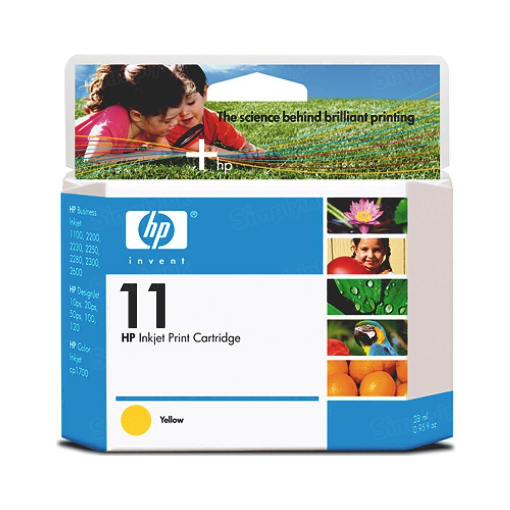 HP 11 Yellow Original Ink Cartridge C4838A