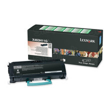 Lexmark OEM High Yield Black Return Program Laser Toner Cartridge, X463H11G (X463/X464/X466 Series) (9K Page Yield)