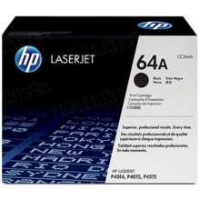 HP 64A (CC364A) Black Original Toner Cartridge in Retail Packaging