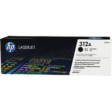 HP 312A (CF380A) Black Original Toner Cartridge in Retail Packaging