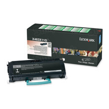 Lexmark OEM Extra High Yield Black Return Program Laser Toner Cartridge, X463X11G (X463/X464/X466 Series) (15K Page Yield)