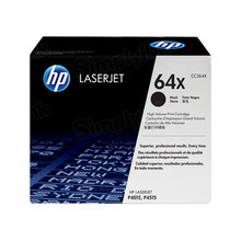 HP 64X (CC364X) Black High Yield Original Toner Cartridge in Retail Packaging