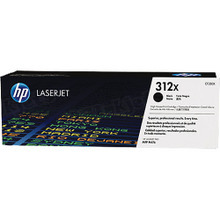 HP 312X (CF380X) Black Original Toner Cartridge in Retail Packaging
