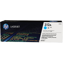 HP 312A (CF381A) Cyan Original Toner Cartridge in Retail Packaging