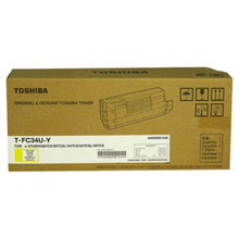 Toshiba OEM Yellow T-FC34-UY Toner Cartridge
